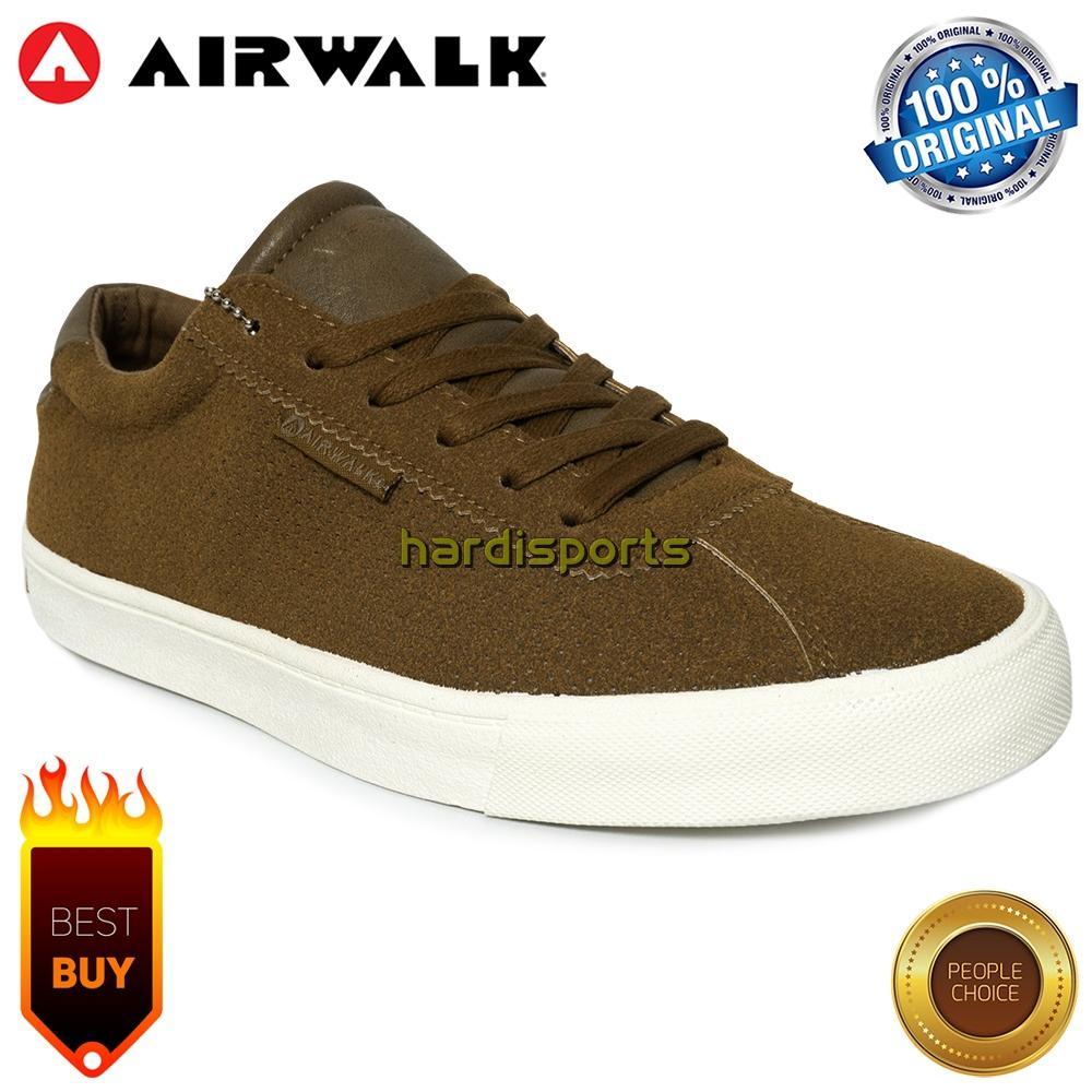 Sepatu Sneaker Pria Airwalk Karlon AIW18PM0625C - Camel 93d570b118