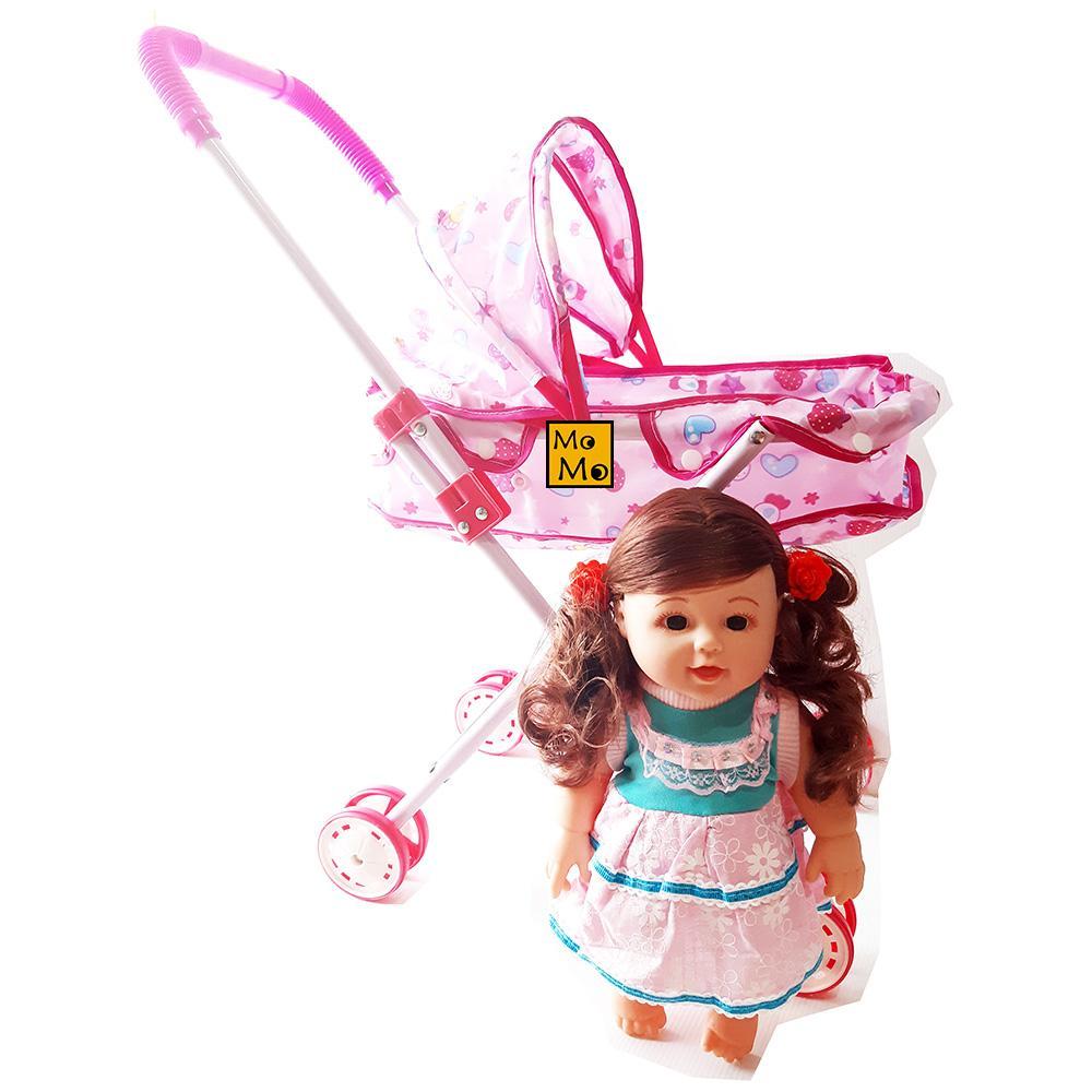 AA Toys Mainan Stroller + Boneka Bayi - Mainan Anak Perempuan   Mainan Anak    Stroller c6455c09b9