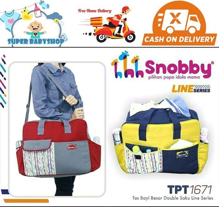 Tas Bayi Besar Snobby/ Diaper Bag Besar Snobby By Super Babyshop.