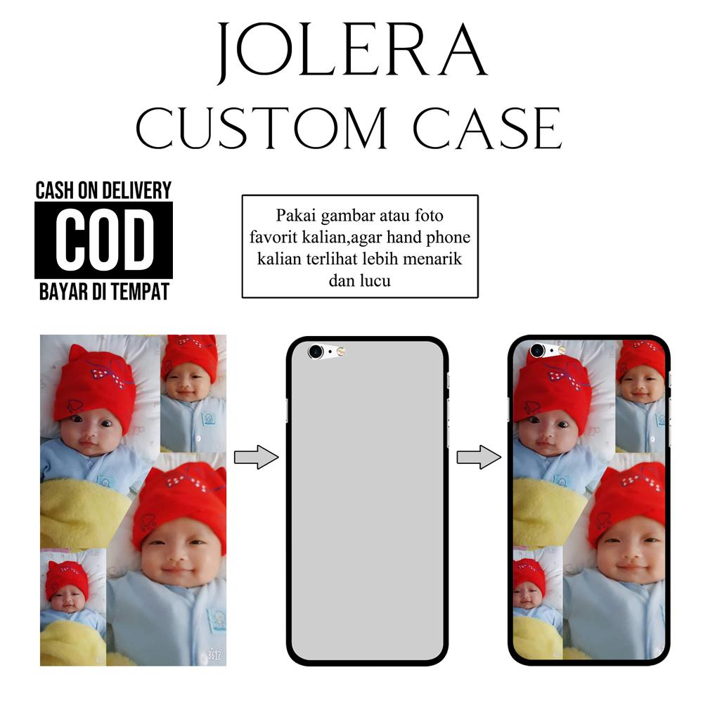 JOLERA Custom Case Bisa Request Gambar Sendiri Bisa Tambah Nama Bisa Untuk Iphone OPPO VIVO Xiaomi Redmi Samsung Galaxy POCOPHONE ASUS LENOVO A5S A3S J2 Prime 5A 6A Note 5A Note 5 Pro Redmi 7 Note 7 V15 F11 Pro F11 F9 F1S A37 X XS MAX Y81 V5 F7 F5 4X Y91