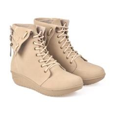 Jual Cbr Six Sepatu Boots Wanita Mikayla Bcc 885 Krem Murah Jawa Barat