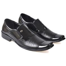 Toko Cbr Six Sepatu Formal Pria Geovany Kulit Dyc 001 Hitam Online