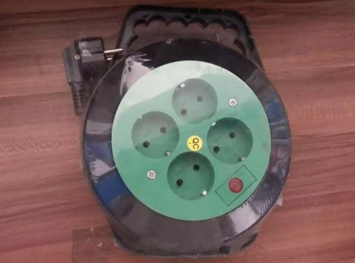 Kabel ROLL Listrik 10 METER Stop Kontak Listrik 4 Lubang Colokan Box Kabel LAMPU Led Indikator