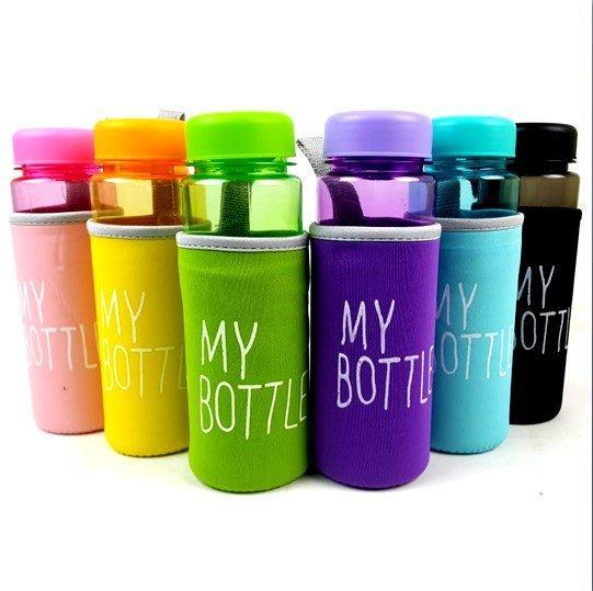 DapurBunda MBF My Bottle Bening Warna Full Pouch Busa Warna 500mL My Bottle Free Pouch Busa