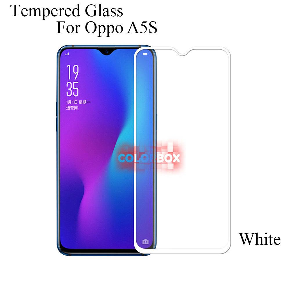 MR Tempered Glass Clear 9H Oppo A5S Full Screen / Temper Glass Oppo A5S / Pelindung