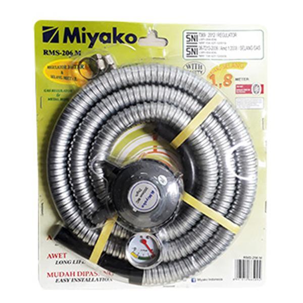 Miyako Regulator Rms-206m Selang 1.8m By Lazada Retail Miyako.