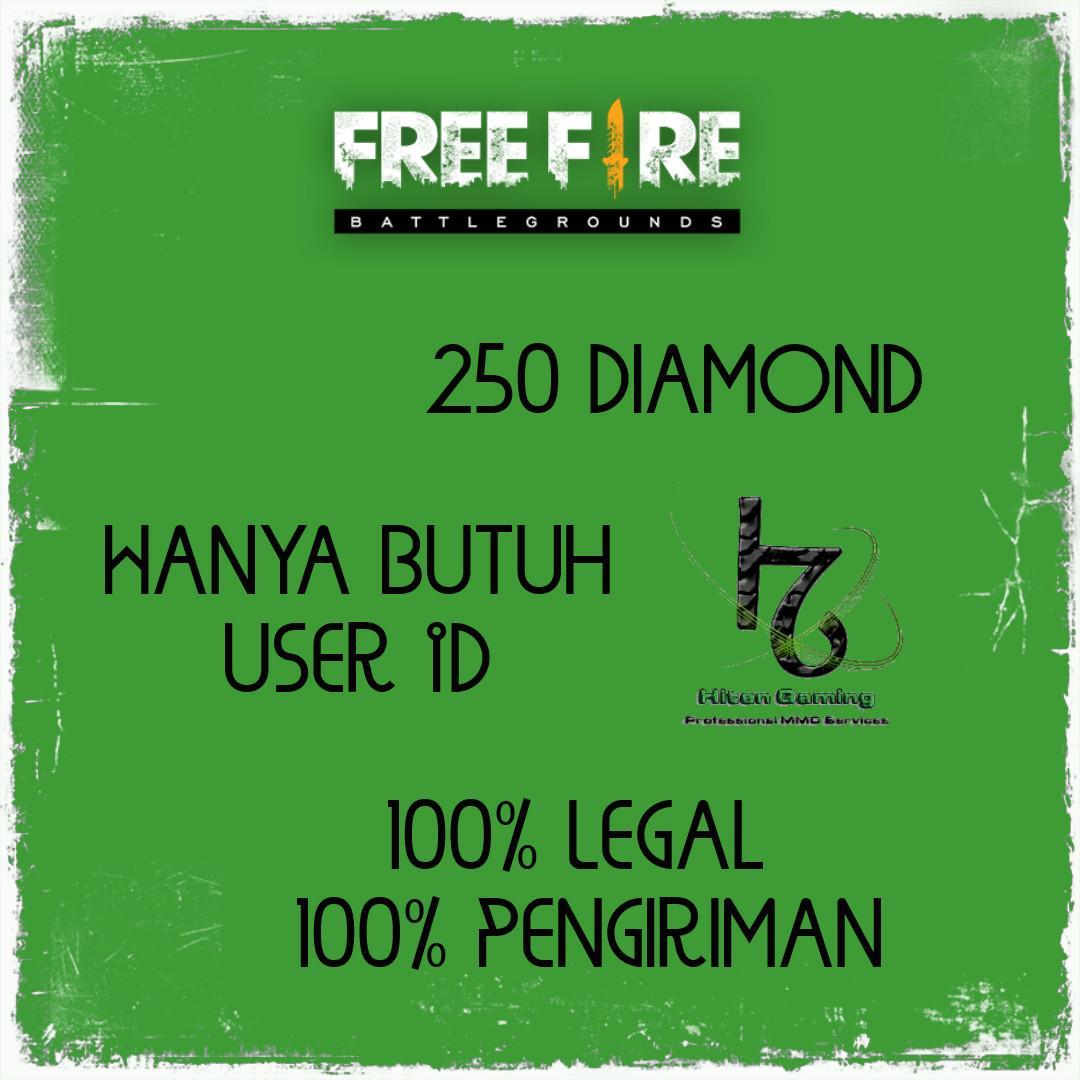 Top Up 250 Diamond Free Fire