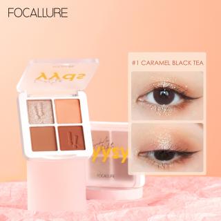 FOCALLURE Secret eyeshadow palette shimmer & matte easy to blend eye shadow powder thumbnail