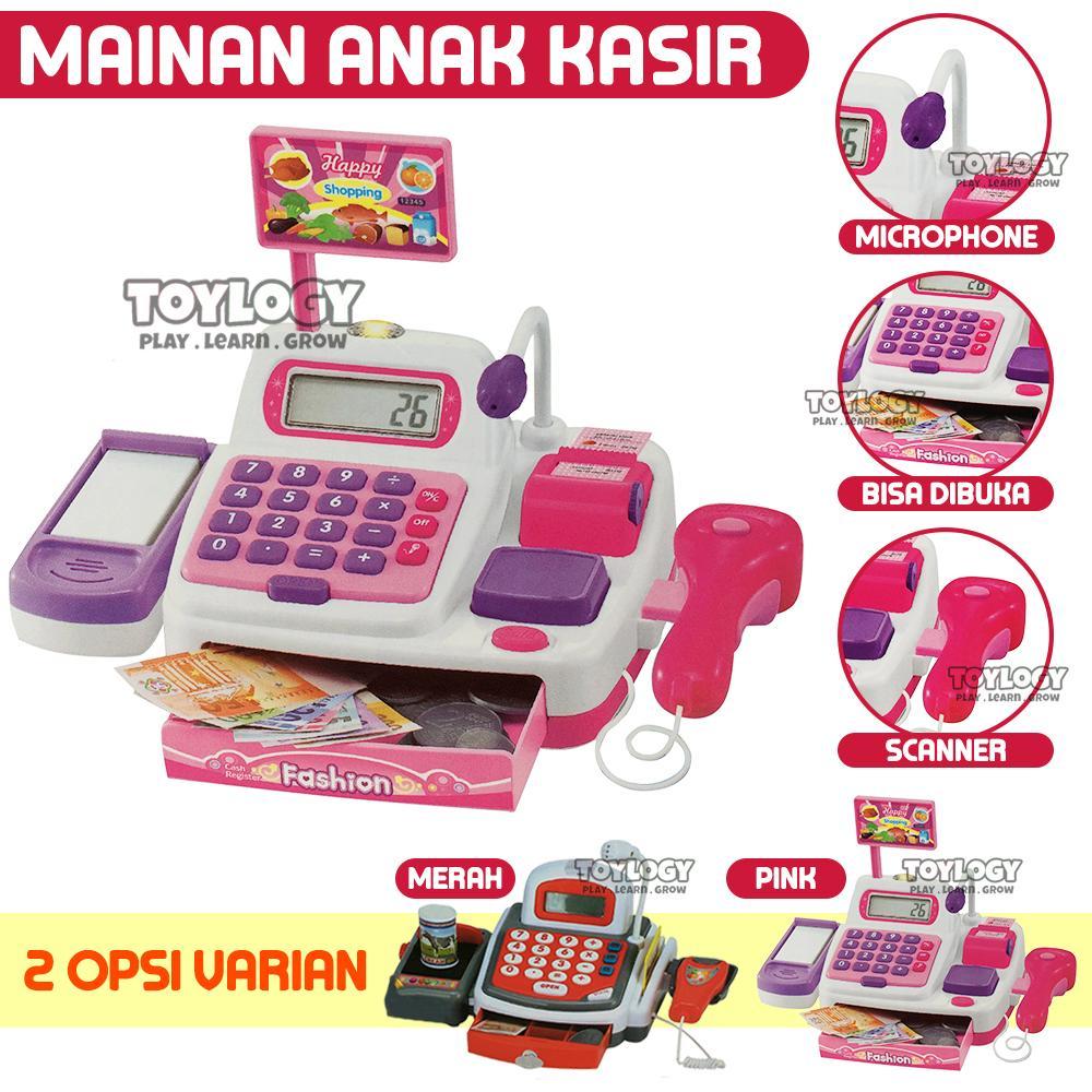 Toylogy Mainan Anak Magical Play Set Cash Register Mesin Kasir Supermarket By Toylogy.