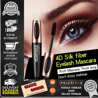 MACFEE Black 4D Silk Fiber EyeLash Mascara Waterproof thumbnail