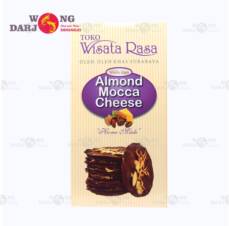 Alomond Crispy Mocca Cheese Wisata Rasa Alomond Crispy Mocca Cheese 120gr Termurah