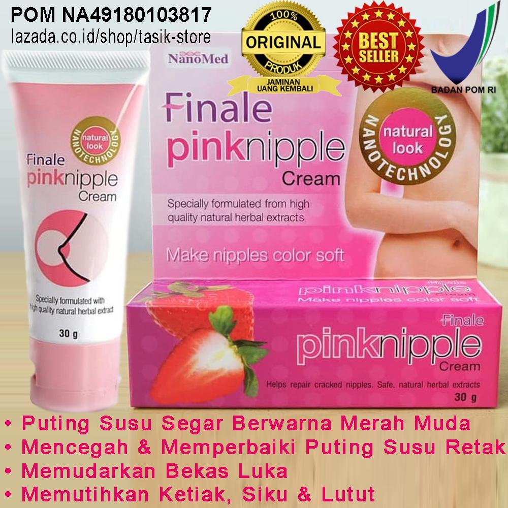 Finale Pinknipple Cream Tube 30gr 100% Original BPOM Obat Herbal Suplemen Kecantikan > Suplemen Kulit