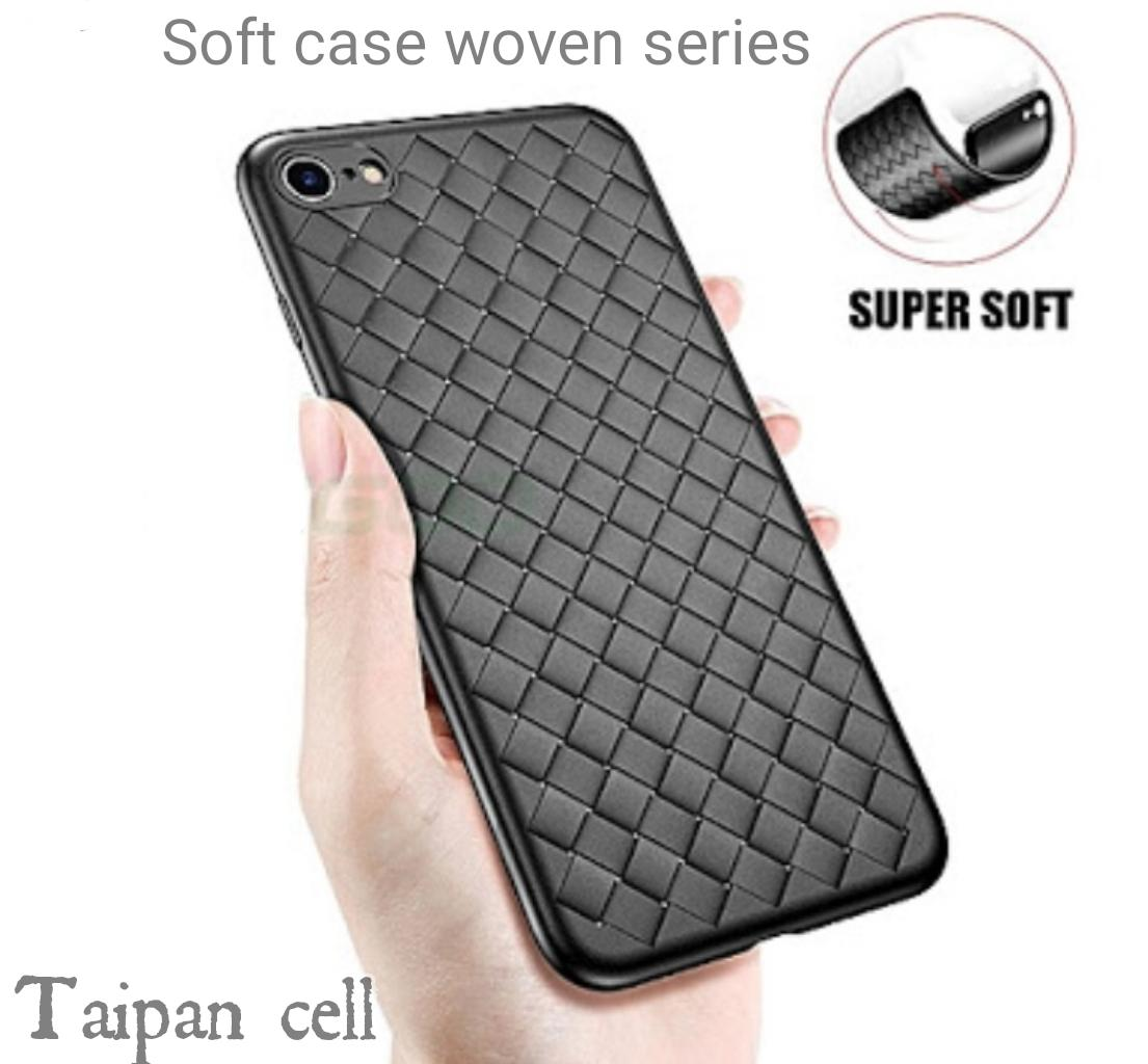 Soft Case TPU WOVEN SERIES For Samsung J6 plus 2018 New Caing cover