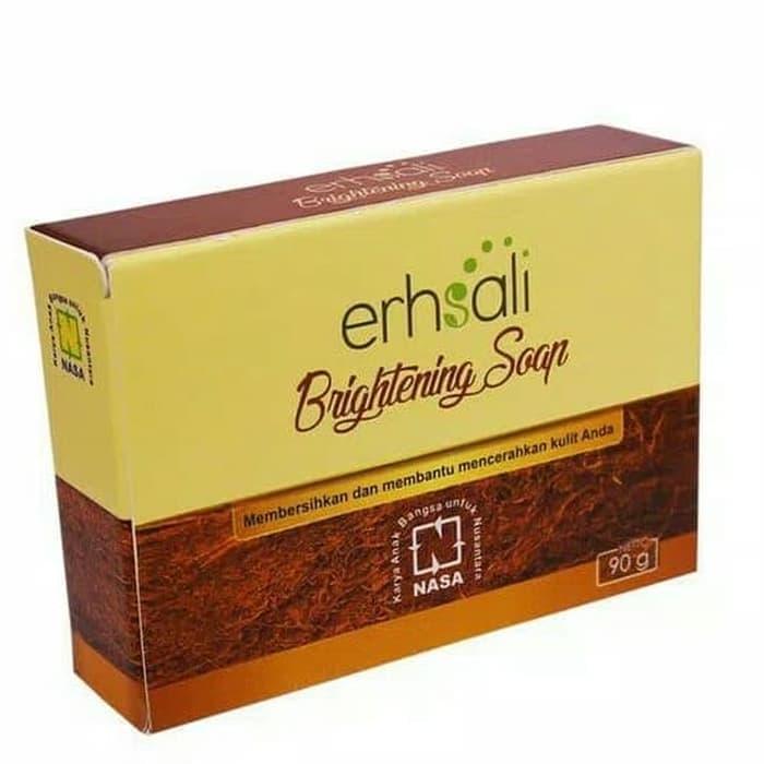 Erhsali Brightening Soap Nasa Pencerah Wajah By Indah Maulid Store.