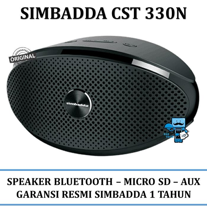 Portable Speaker Simbada CST 330 N - Music Player Bluetooth Micro SD