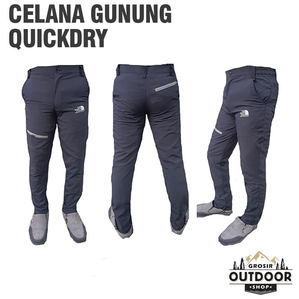 Celana Gunung Quickdry Kombinasi / Celana Quickdry / Celana Hiking Kombinasi