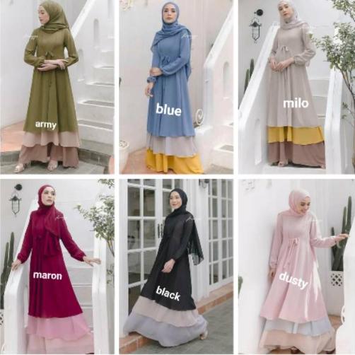 Termurah Baju Gamis Wanita Terbaru 2020 Gamis Syari Baju Wanita Baju Wanita Muslim Baju Wanita Long Dress Murah Baju Lebaran 2020 Gamis Terbaru 2020 Modern