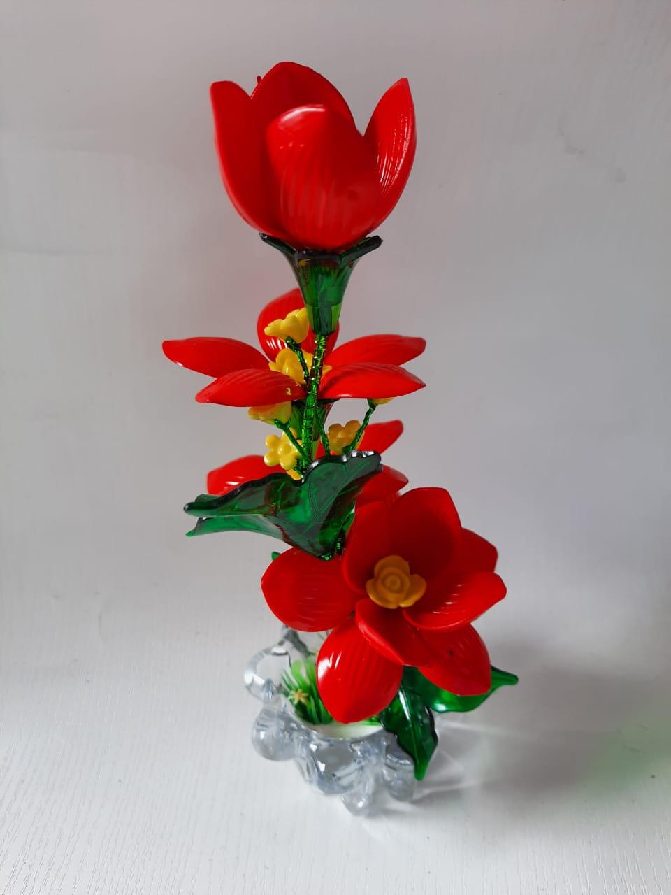 Bunga Hias Plastik Meja Tamu Dan Cara Membuatnya Beautiful Flower Crafts Youtube