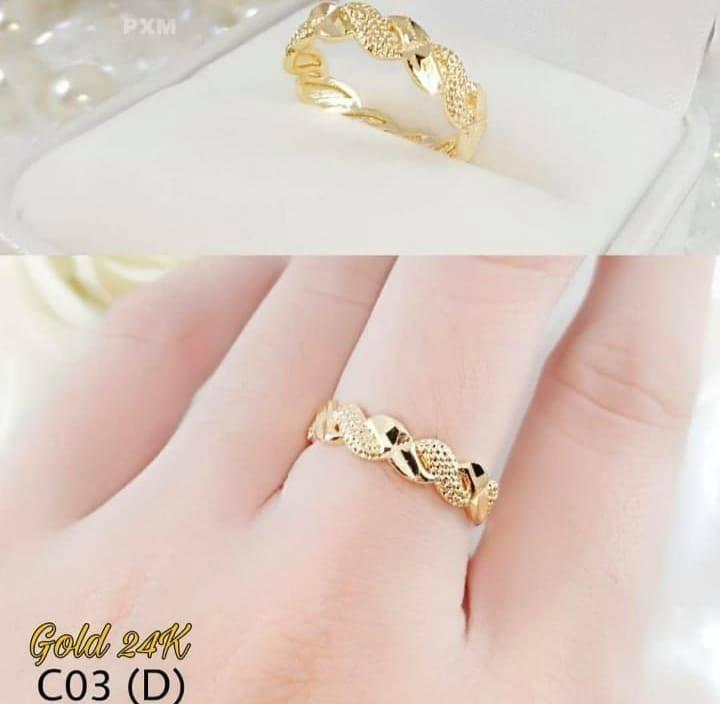 Cincin Motif Simple By Sakinahcollection.