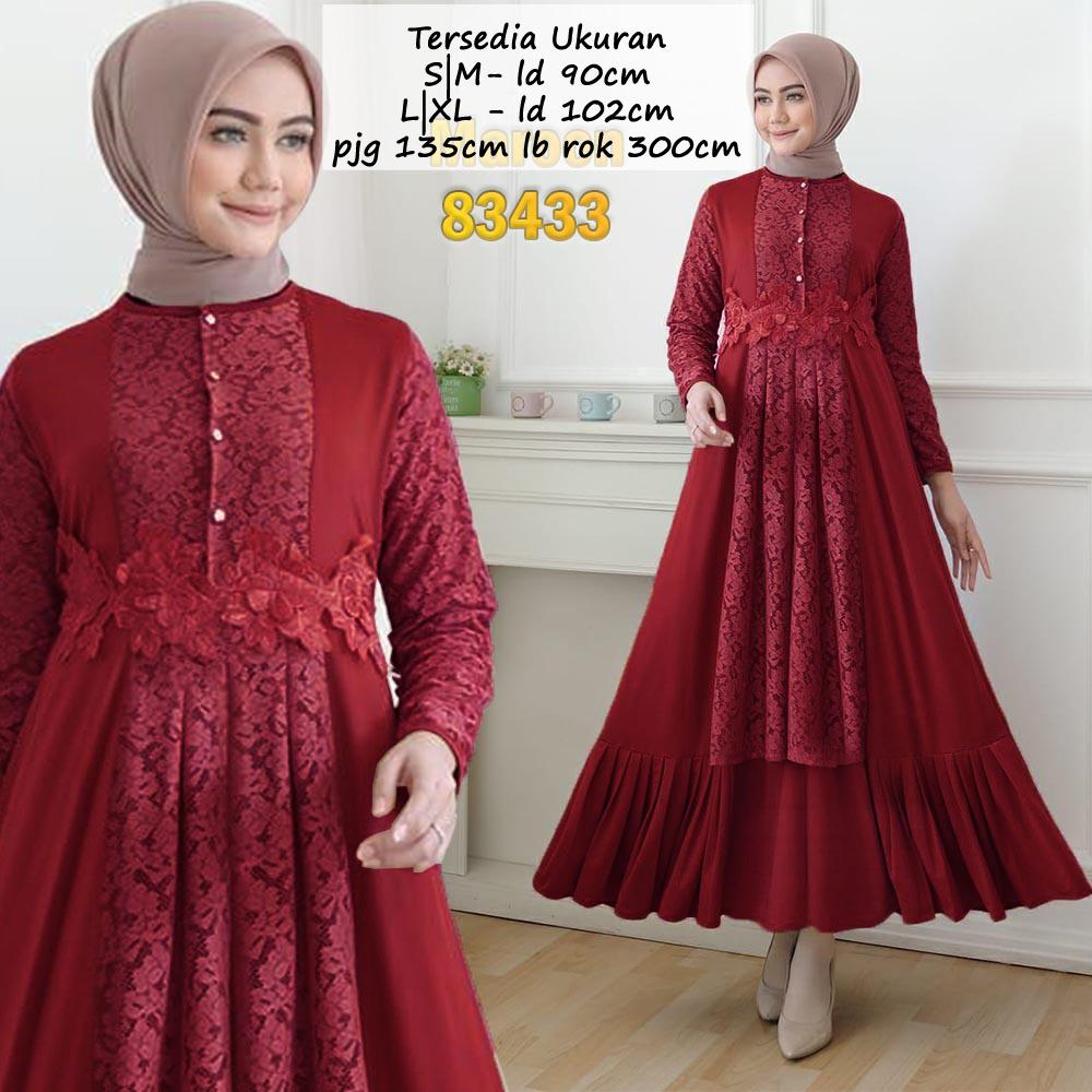 TG Gamis Syari Syarie Gaun Pesta ORGINAL REAL PIC brukat Premium Mewah baju Kebaya Pesta party dress Kondangan Modern brokat busui wisuda remaja rok tutu tile payung lebar muslimah muslim wanita lebaran terbaru 2020 ihfarah