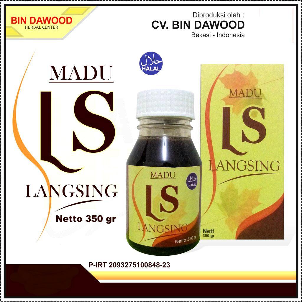 Madu Diet Langsing LS Herbal Pelangsing Tubuh Alami Halal Sehat Asli Original Honey Penurun Berat Badan