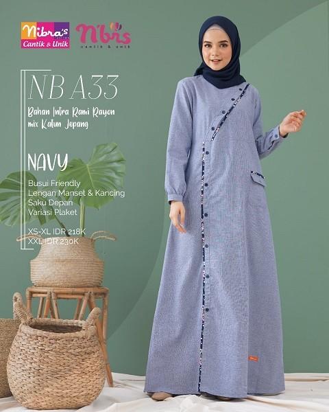 Jual Baju Muslim Jumpsuit Nibras Lazada Co Id