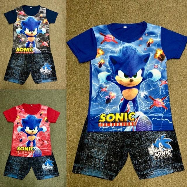 Baju Sonic Anak