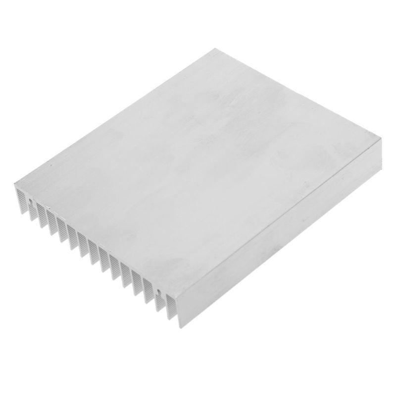 Bảng giá Silver Tone Aluminium Heat Diffuse Heat Sink Cooling Fin 120x100x18mm Phong Vũ
