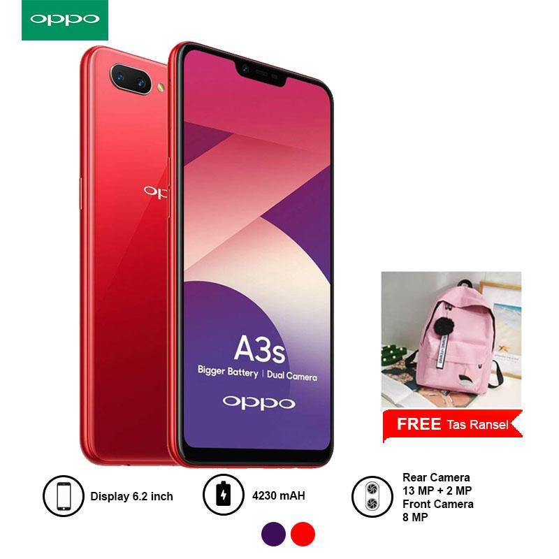 OPPO A3s 2018 3GB/32GB Garansi Resmi dan FREE GIFT