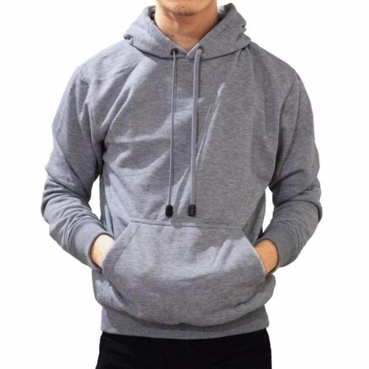 5617dad634d7 Jaket Switer hoodie jansit polos termurah Hodie polos hoodie pria Jaket  Pria Sweater Pria Hoodie Polos