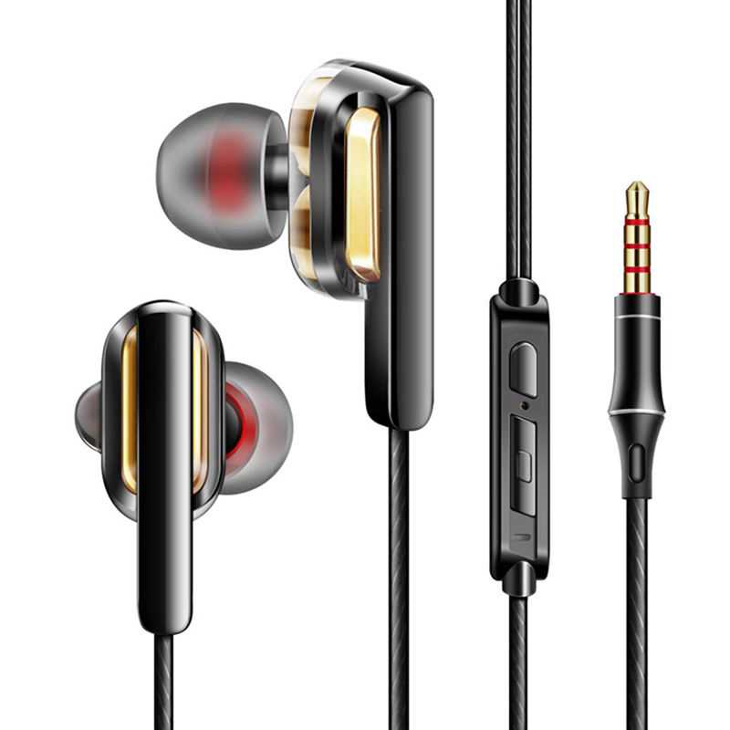 Voucher Giảm Giá Wired Headphone Headsets Earbuds Noise Isolating In-The-Ear-Headphones For Pc Laptop Tablet Smartphone