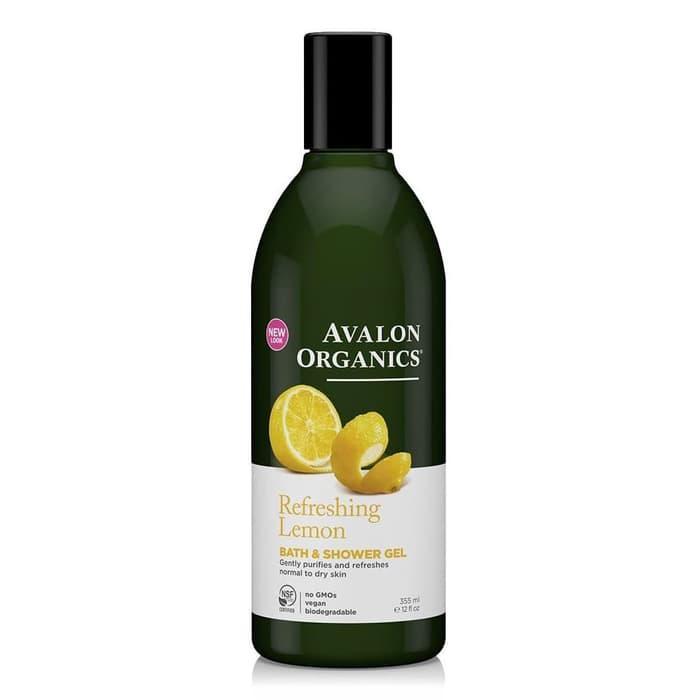PROMO Lemon Refreshing Organic Bath  Shower Gel, Avalon Organics - gDuQSxwG