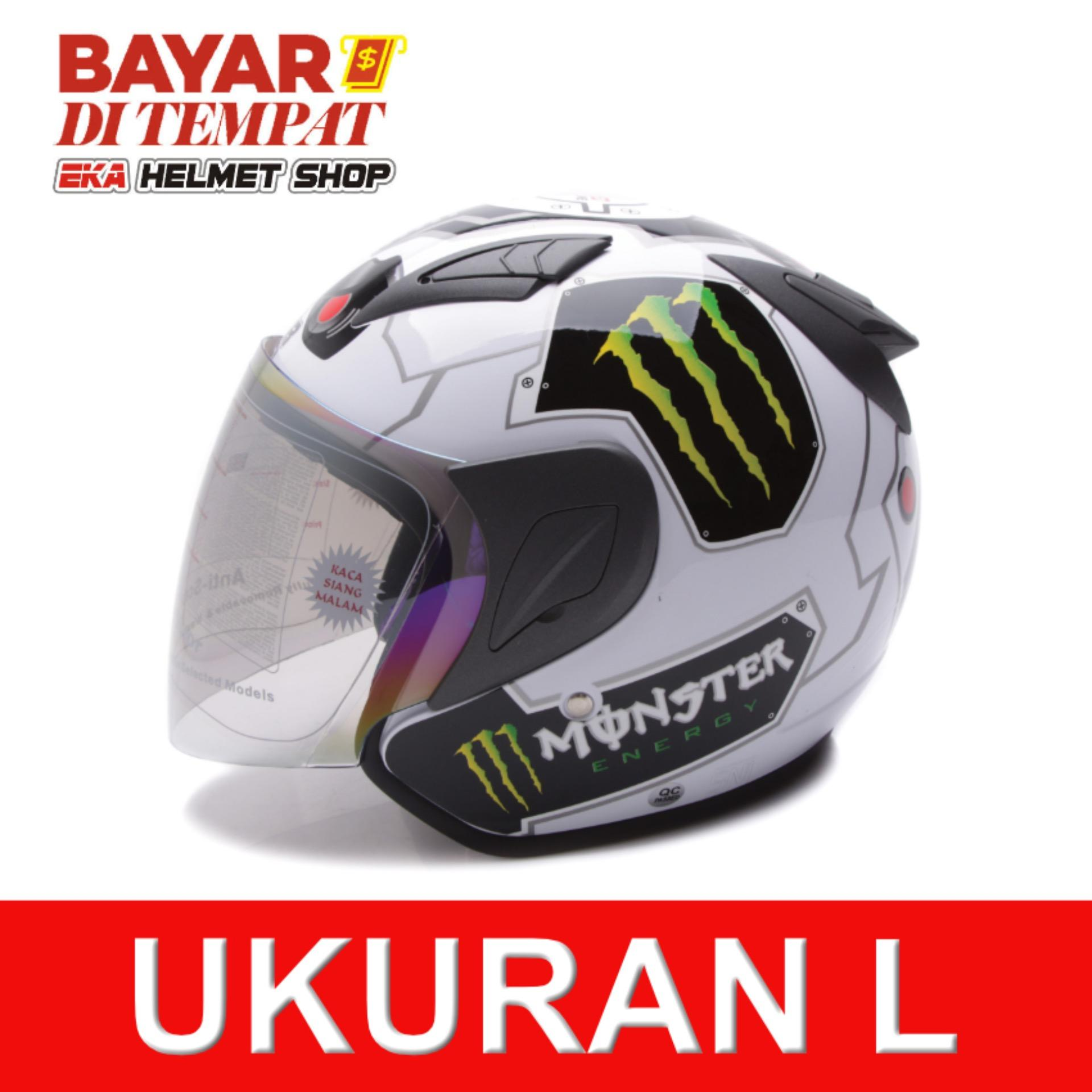 MSR Helmet Javelin - Monster - Putih