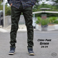 Spesifikasi Impresif Malmo Chinopants Green Army Celana Panjang Chino Hijau Tua Katun Twill Melar Slimfit Chinos Merk Impresif