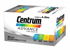 Jual Centrum Advance 100 Tablets *D*Lt Import