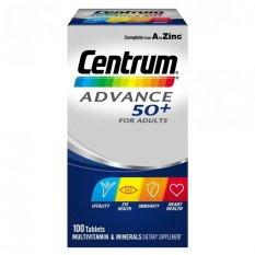 Spesifikasi Centrum Advance 50 100 Tablet Yg Baik