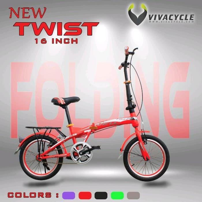 sepeda lipat ukuran 16