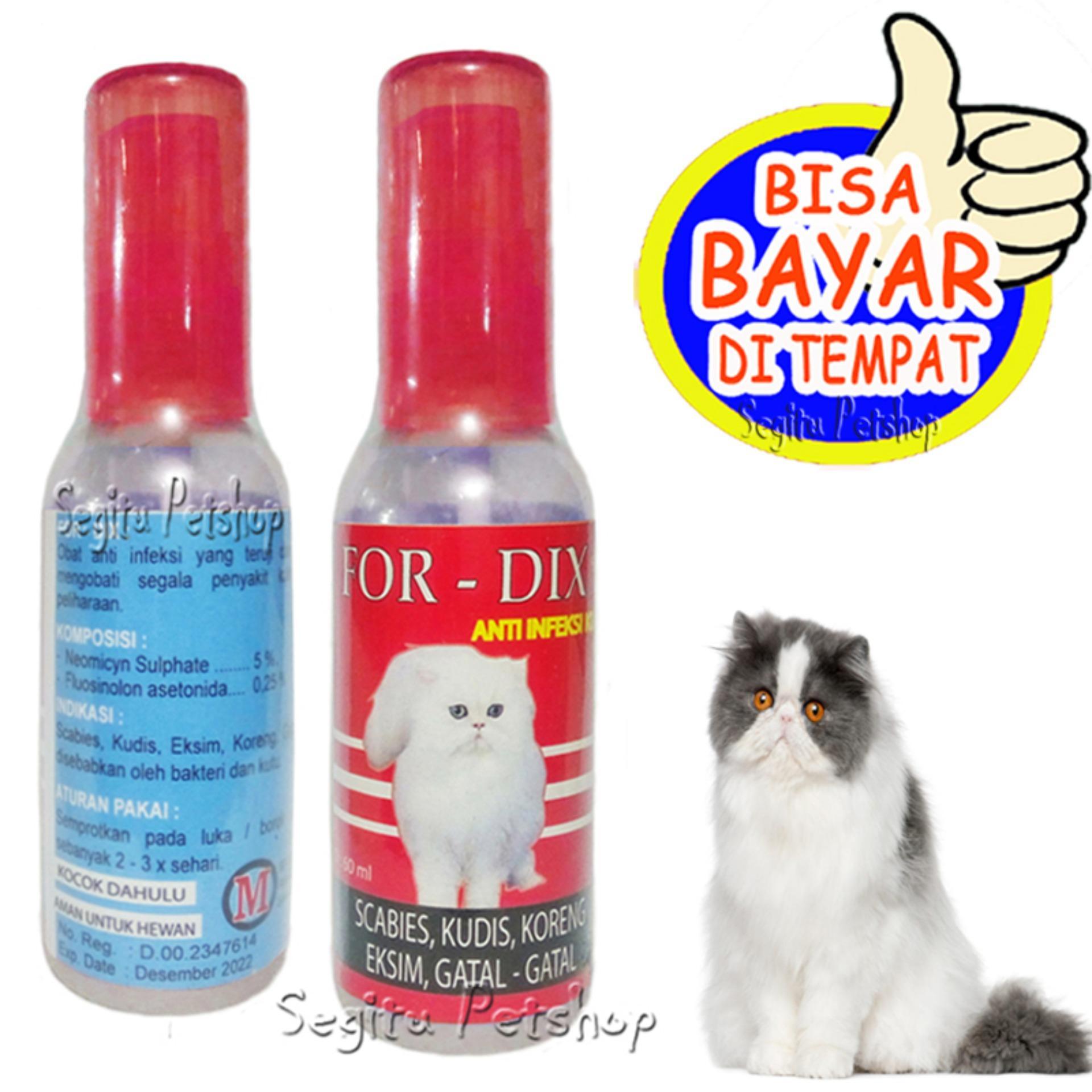 Obat Jamur Kucing Scabies Gatal Kutu Borok Sakit Koreng For Dix Lazada Indonesia