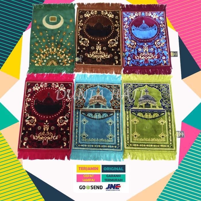 HENDDIA Sajadah Anak / Kepala/ Kecil Iqbal Multi color ( random)