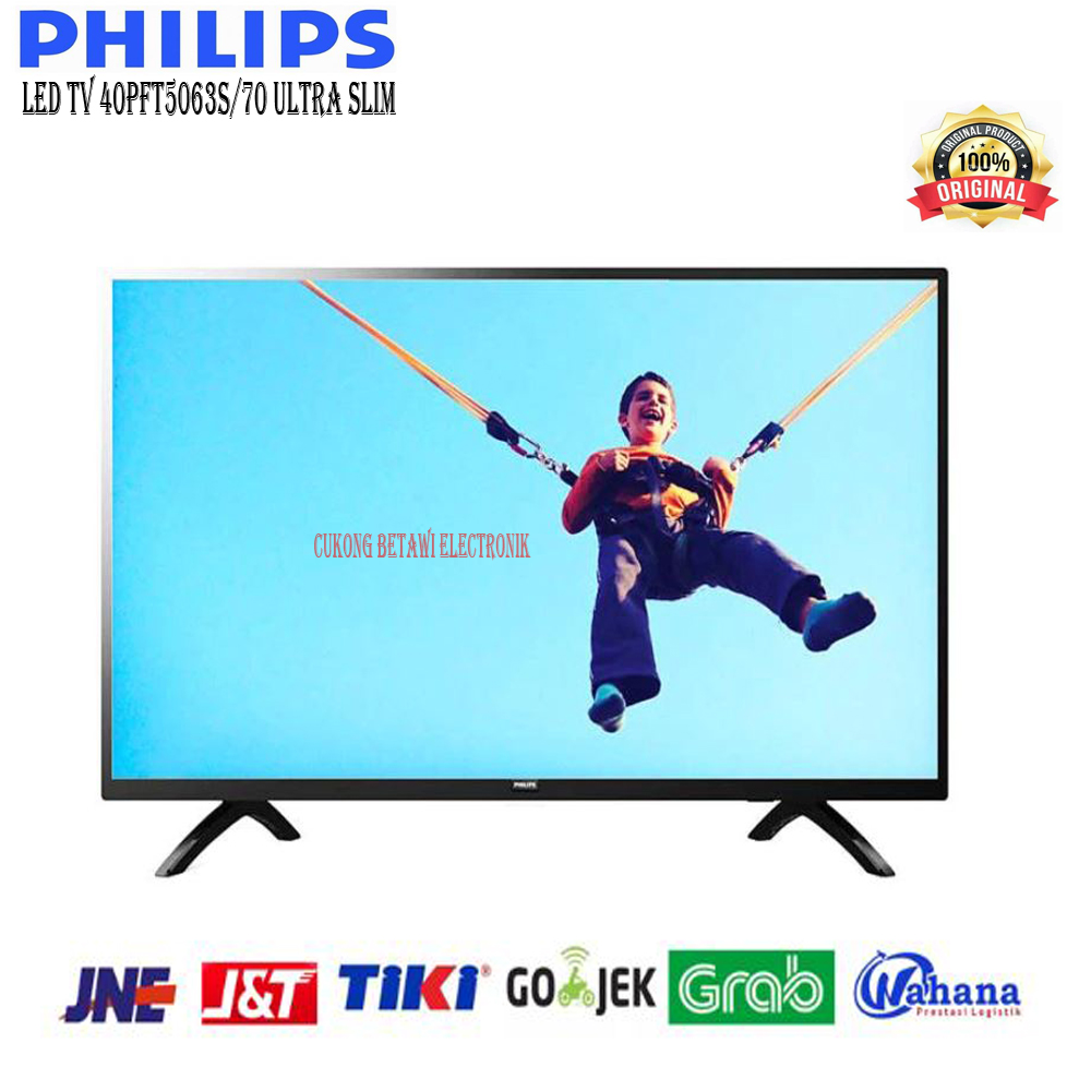 PHILIPS 40PFT5063S/70 Full HD Ultra Slim LED TV-Khusus Jabodetabek