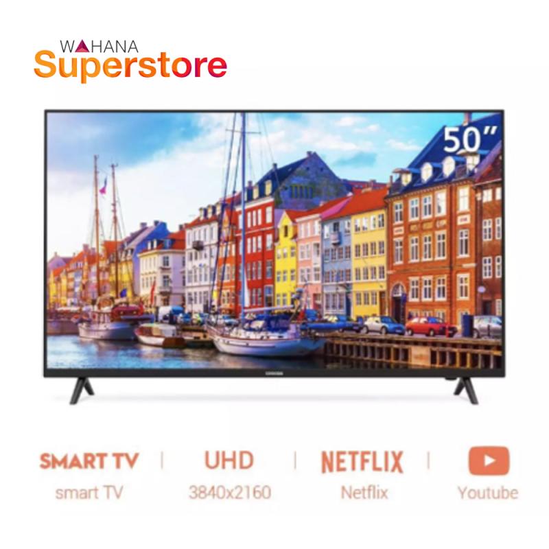 Coocaa 4K ULTRA HD Smart LED TV 50  - 50S3N
