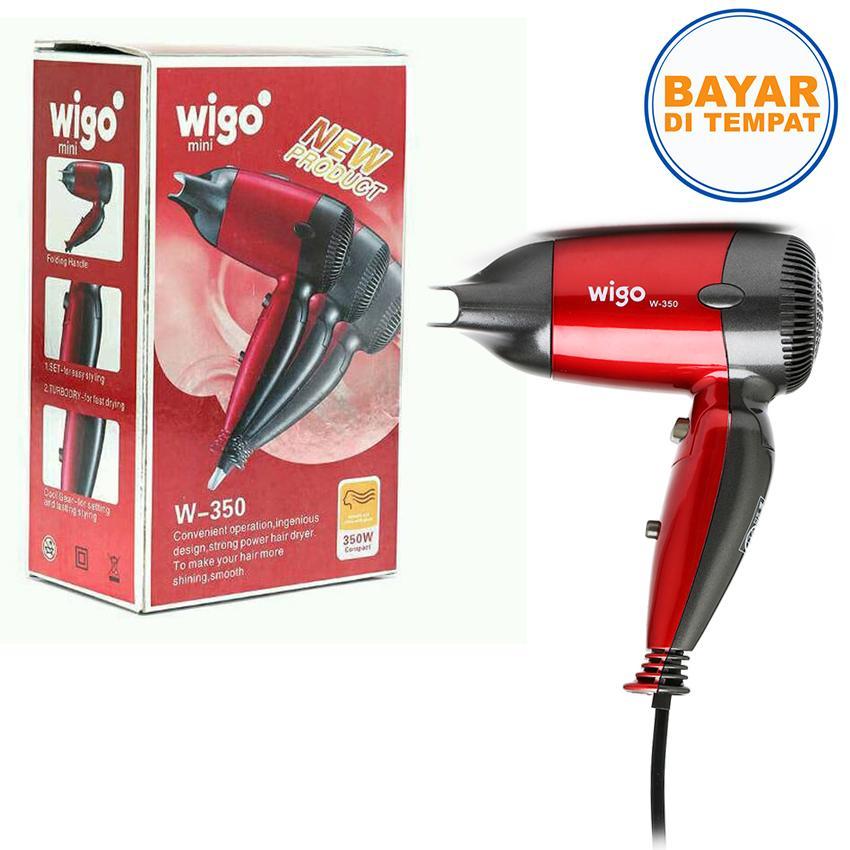Pengering RambutWigo W-350 Travel Hair Dryer/Hair Dryer Mini/Hair Dryer Lipat