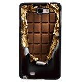 Spesifikasi Coklat Pola Phone Case Untuk Samsung Galaxy Note 1 Hitam Murah