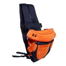 Spesifikasi Chuan Que Baby Carrier Gendongan Bayi 4 In 1 Orange Murah