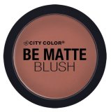 Jual City Color Cosmetics Be Matte Blush Hibiscus Murah