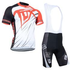 Beli Pakaian Set Fox Lengan Pendek Jersey Sportswear Sepeda Bersepeda Bib Celana Putih Oem Asli