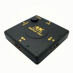 Cloudsea 4 K X 2 K HDMI Video Sinyal Audio Splitter 3 In 1 Hub Switch Switcher untuk PS4 HD TV HDTV Blu-Ray Player PS3 Xbox 360 Laptop PC