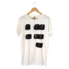 Spesifikasi Clue Printed Tshirt Putih