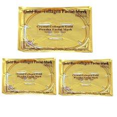 Promo Collagen Gold F*C**L Mask 10 Pcs Masker Wajah Emas Kolagen Harga Grosir Murah Original