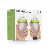 Review Pada Comotomo Green 250 Ml Twin Pack Botol Susu Bayi Baby Bottle